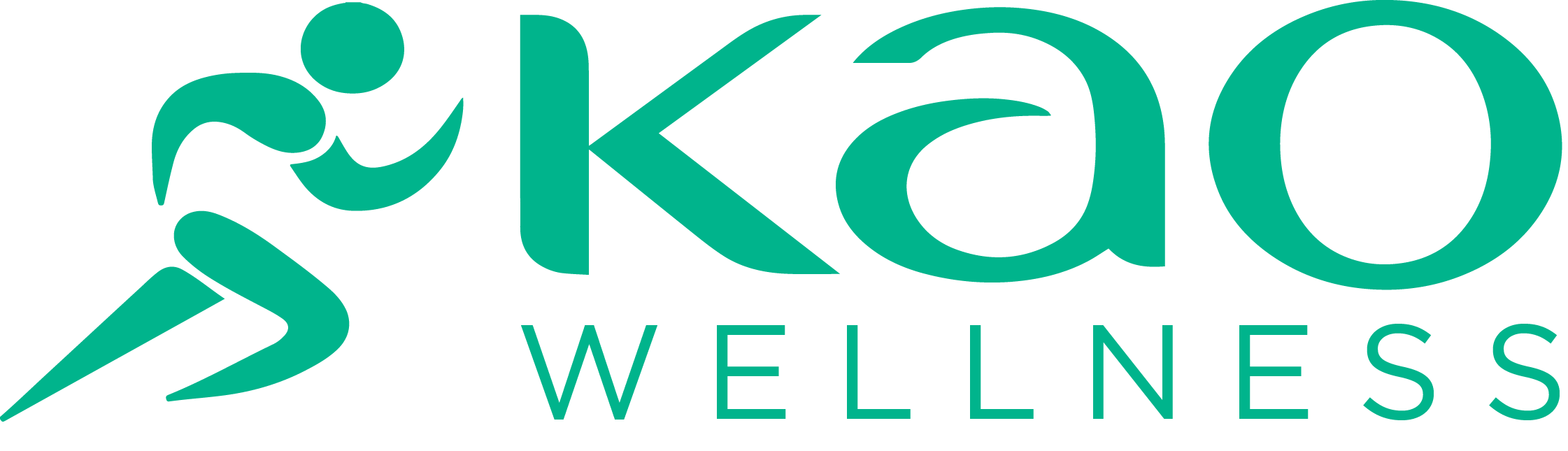 KAO Wellness Logo Green
